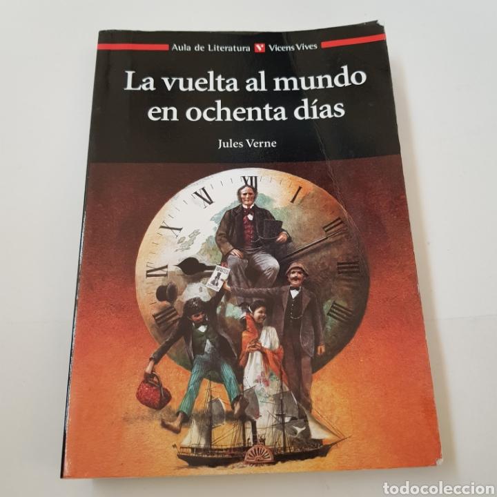 LA VUELTA AL MUNDO 80 DIAS - VICENS VIVES - TDK6 (Libros de Segunda Mano - Literatura Infantil y Juvenil - Otros)