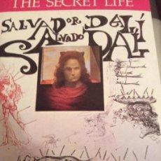 Libros de segunda mano: THE SECRÈT LIFE OF SALVADOR DALI. Lote 159820882