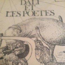 Libros de segunda mano: DALI ET LES POETES 1976. Lote 159848586
