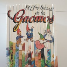 Libros de segunda mano: COLECCIÓN EL LIBRO SECRETO DE LOS GNOMOS. Lote 159862172