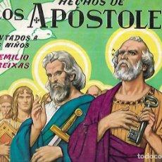 Libros de segunda mano: HECHOS DE LOS APÓSTOLES CONTADOS A LOS NIÑOS- ILUSTRADO FREIXAS . 1º ED. 1965. Lote 159917802