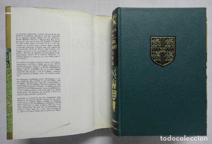 Libros de segunda mano: HISTORIA DEL MUNDO EN LA EDAD MEDIA. OBRA COMPLETA EN 3 TOMOS. - Foto 3 - 159972594