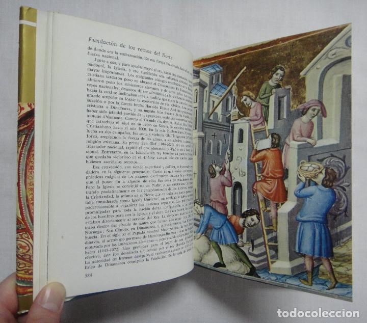 Libros de segunda mano: HISTORIA DEL MUNDO EN LA EDAD MEDIA. OBRA COMPLETA EN 3 TOMOS. - Foto 6 - 159972594