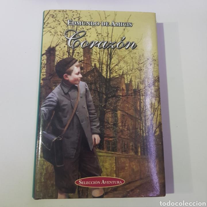 EDMUNDO DE AMICIS - CORAZON - SELECCION AVENTURA - TDK16 (Libros de Segunda Mano - Literatura Infantil y Juvenil - Otros)