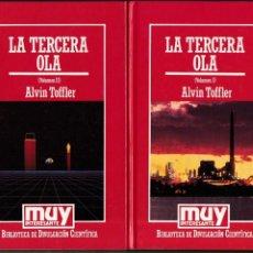 Libros de segunda mano: LA TERCERA OLA - ALVIN TOFFLER - EDICIONES ORBIS 1985. Lote 160017234