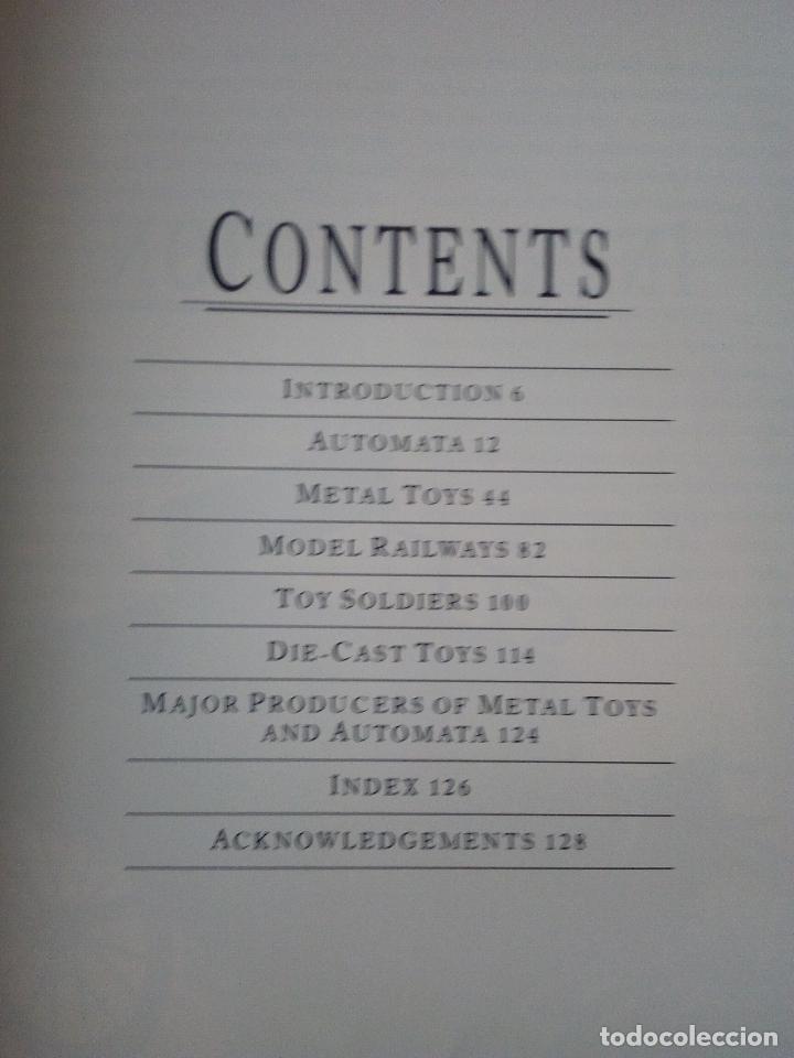 Libros de segunda mano: -A GUIDE TO METAL TOYS-CONSTANCE KING-INGLES 130 PAG - Foto 2 - 160133142