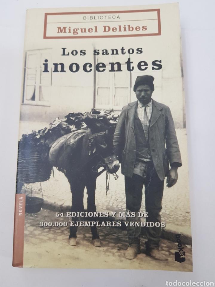 LOS SANTOS INOCENTES - MIGUEL DELIBES - TDK10 (Libros de Segunda Mano (posteriores a 1936) - Literatura - Otros)