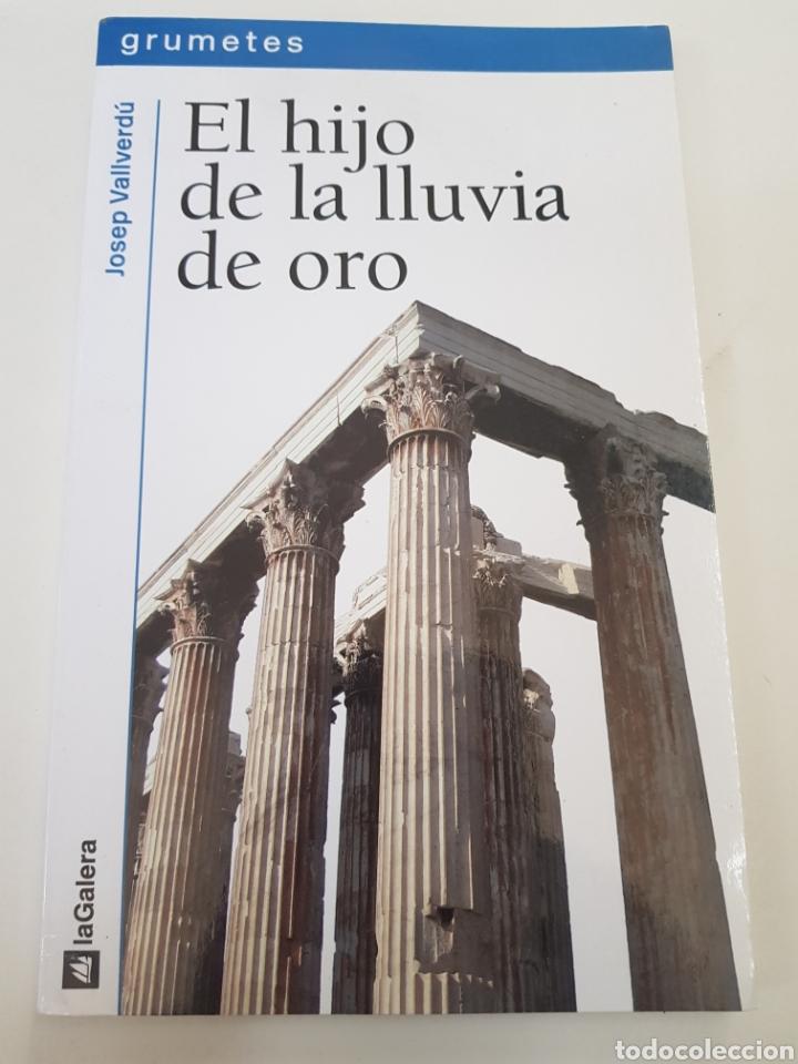 EL HIJO DE LA LLUVIA DE ORO - VALLVERDU JOSEP - TDK10 (Libros de Segunda Mano (posteriores a 1936) - Literatura - Otros)