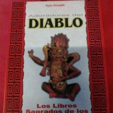 Libros de segunda mano: DIABLO ADORADORES.. Lote 160212673