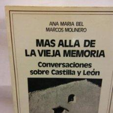 Libros de segunda mano: STQ.ANA MARIA BEL.MAS ALLA DE LA VIEJA MEMORIA.EDT,TESTIMONIO.BRUMART TU LIBRERIA.. Lote 160224618