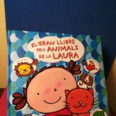 Libros de segunda mano: LIBRO EN CATALÁN - EL GRAN LLIBRE DELS ANIMALS DE LA LAURA - LIESBET SLEGERS - BAULA EDELVIVES, 2013. Lote 160234844