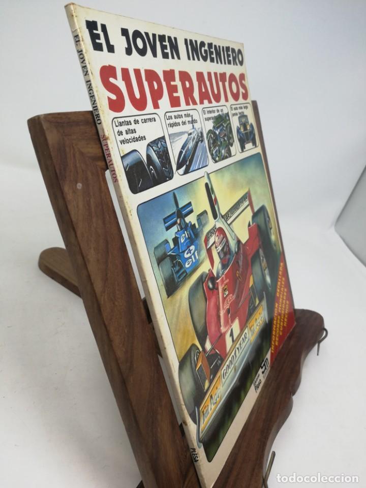 Libros de segunda mano: SUPERAUTOS. EL JOVEN INGENIERO. Ediciones Plesa - Foto 2 - 160382214