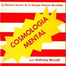 Libros de segunda mano: NORVELL : COSMOLOGÍA MENTAL (DOMIGUEL, 1976). Lote 160397910