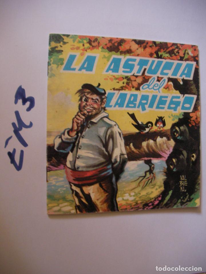 ANTIGUO CUENTO - LA ASTUCIA DEL LABRIEGO (Libros de Segunda Mano - Literatura Infantil y Juvenil - Otros)