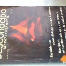 Libros de segunda mano: MUNDO DESCONOCIDO/ 60/ EXPIRITISMO - BASAJUM - ESPIONAJE CIUDAD DIOS/ / E205. Lote 160433794