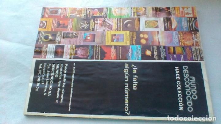 Libros de segunda mano: MUNDO DESCONOCIDO/ 60/ EXPIRITISMO - BASAJUM - ESPIONAJE CIUDAD DIOS/ / E205 - Foto 3 - 160433794