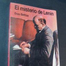 Libros de segunda mano: EL MISTERIO DE LENIN / ENZO BETTIZA / ARGOS VERGARA 1984 / SIN USAR. Lote 160442474