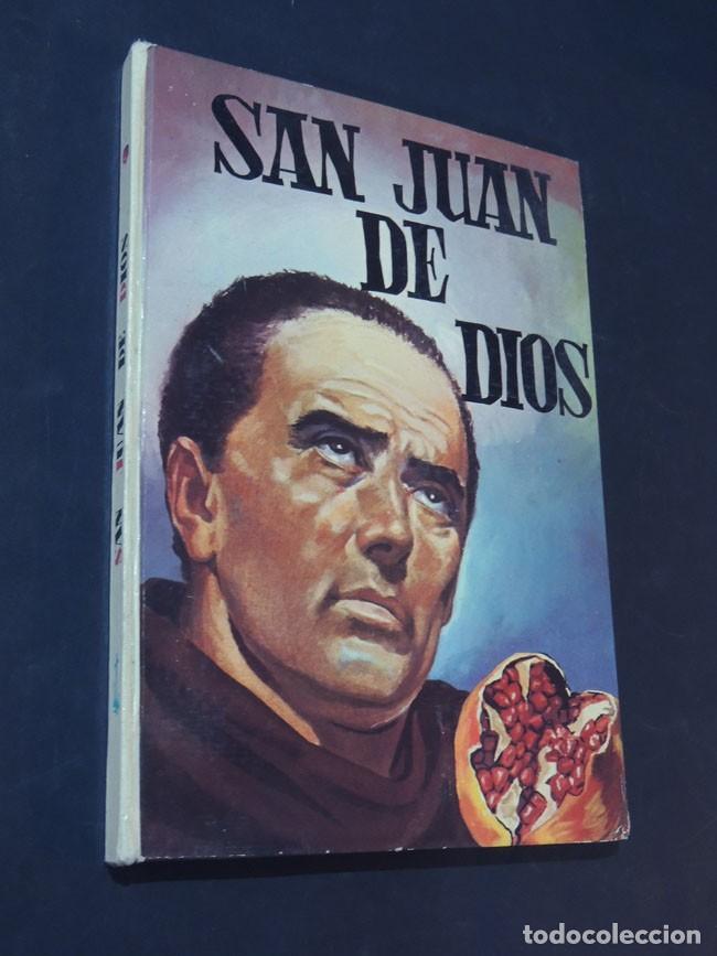 SAN JUAN DE DIOS - ISABEL FLORES DE LEMUS - COLECCIÓN VIDAS SANTAS Nº 14 - ED. VILAMALA - AÑO 1962. (Libros de Segunda Mano - Literatura Infantil y Juvenil - Otros)