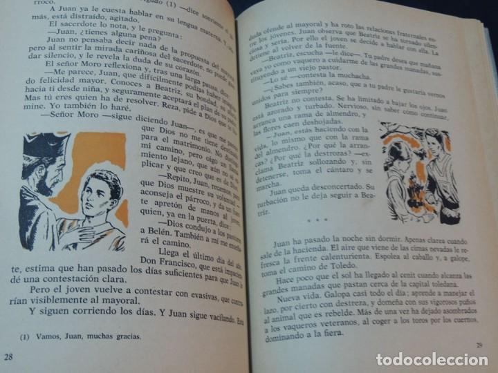 Libros de segunda mano: SAN JUAN DE DIOS - ISABEL FLORES DE LEMUS - COLECCIÓN VIDAS SANTAS Nº 14 - ED. VILAMALA - AÑO 1962. - Foto 3 - 160444242