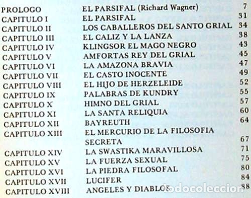 Libros de segunda mano: EL PARSIFAL DEVELADO - SAMAEL AUN WEOR - VER INDICE - Foto 2 - 160466250