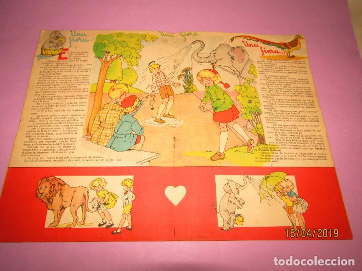 Libros de segunda mano: Antiguo Cuento MARI-PEPA en OTOÑO de Emilia Cotarelo con Ilustraciones de Maria Claret - Foto 3 - 160484338