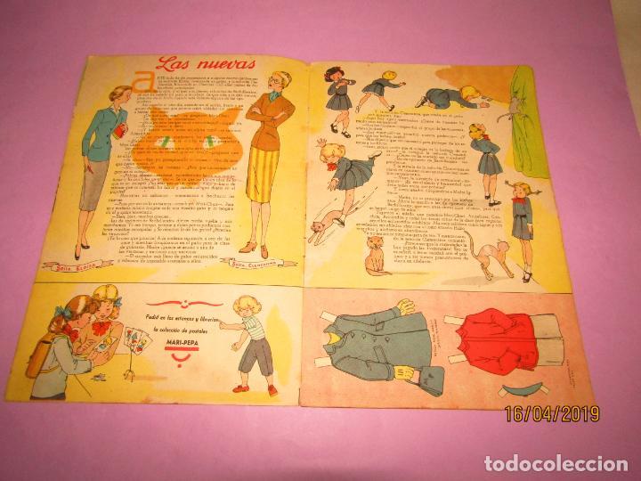 Libros de segunda mano: Antiguo Cuento MARI-PEPA en OTOÑO de Emilia Cotarelo con Ilustraciones de Maria Claret - Foto 4 - 160484338