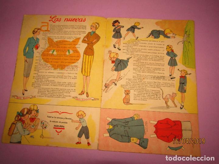 Libros de segunda mano: Antiguo Cuento MARI-PEPA en OTOÑO de Emilia Cotarelo con Ilustraciones de Maria Claret - Foto 5 - 160484338