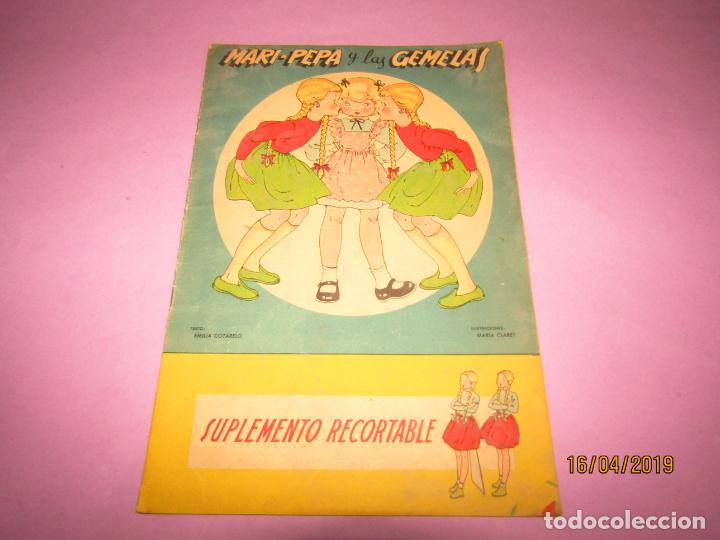 ANTIGUO CUENTO CON MARI-PEPA Y LAS GEMELAS DE EMILIA COTARELO CON ILUSTRACIONES DE MARIA CLARET (Libros de Segunda Mano - Literatura Infantil y Juvenil - Otros)