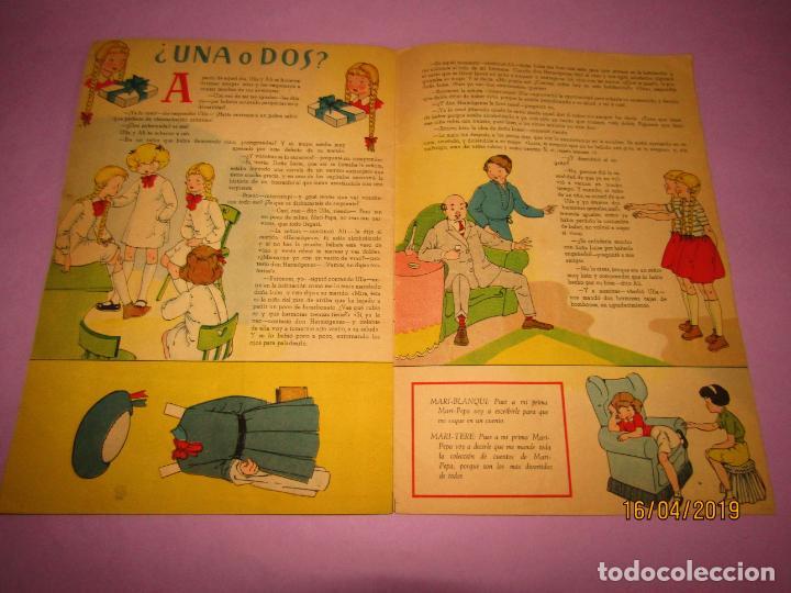Libros de segunda mano: Antiguo Cuento con MARI-PEPA y las Gemelas de Emilia Cotarelo con Ilustraciones de Maria Claret - Foto 2 - 160484902