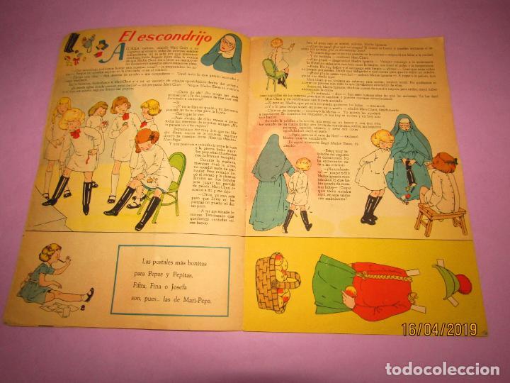 Libros de segunda mano: Antiguo Cuento con MARI-PEPA y las Gemelas de Emilia Cotarelo con Ilustraciones de Maria Claret - Foto 4 - 160484902