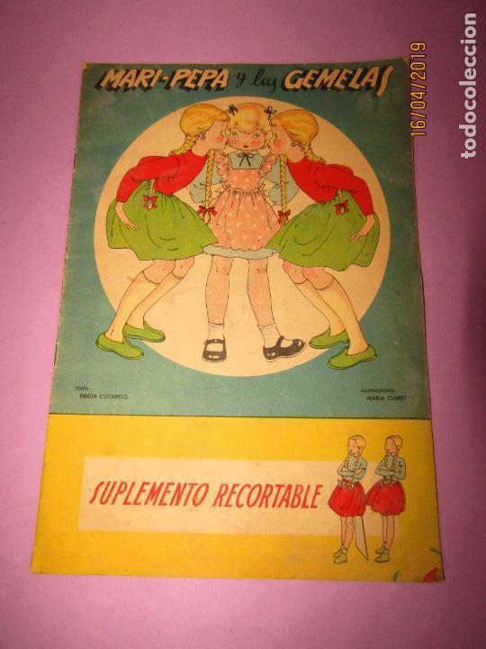 Libros de segunda mano: Antiguo Cuento con MARI-PEPA y las Gemelas de Emilia Cotarelo con Ilustraciones de Maria Claret - Foto 5 - 160484902