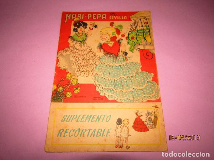 ANTIGUO CUENTO CON MARI-PEPA EN SEVILLA DE EMILIA COTARELO CON ILUSTRACIONES DE MARIA CLARET (Libros de Segunda Mano - Literatura Infantil y Juvenil - Otros)