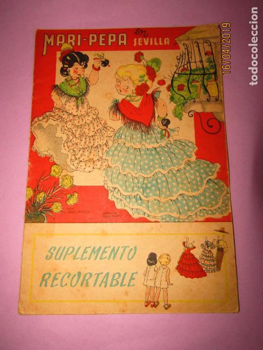Libros de segunda mano: Antiguo Cuento con MARI-PEPA en Sevilla de Emilia Cotarelo con Ilustraciones de Maria Claret - Foto 2 - 160485030
