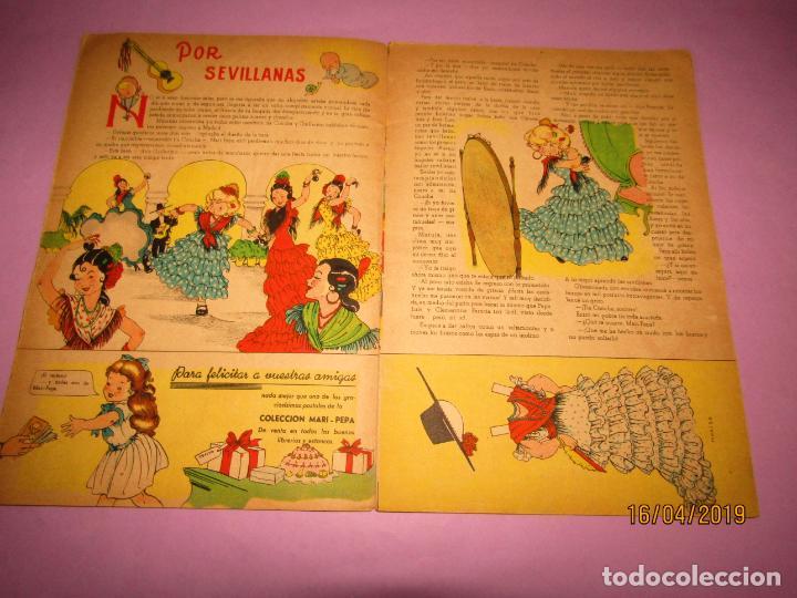 Libros de segunda mano: Antiguo Cuento con MARI-PEPA en Sevilla de Emilia Cotarelo con Ilustraciones de Maria Claret - Foto 4 - 160485030