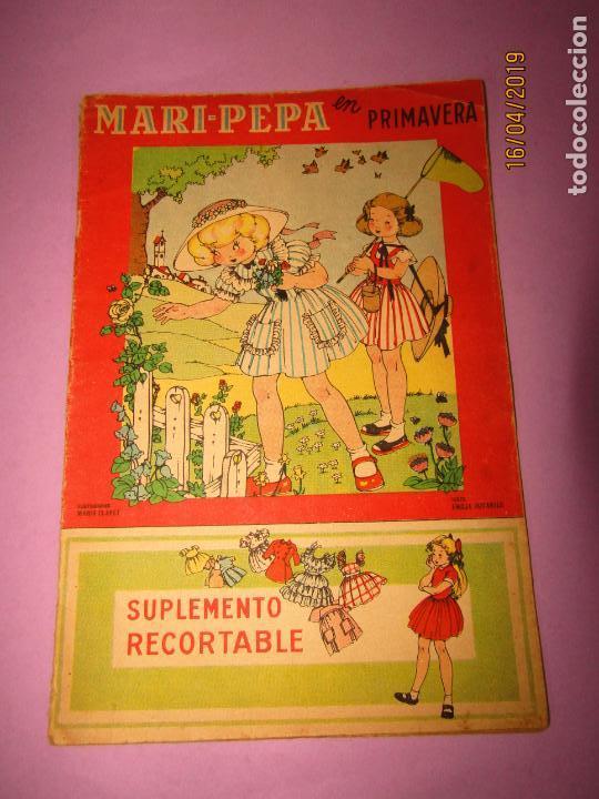 ANTIGUO CUENTO CON MARI-PEPA EN PRIMAVERA DE EMILIA COTARELO CON ILUSTRACIONES DE MARIA CLARET (Libros de Segunda Mano - Literatura Infantil y Juvenil - Otros)