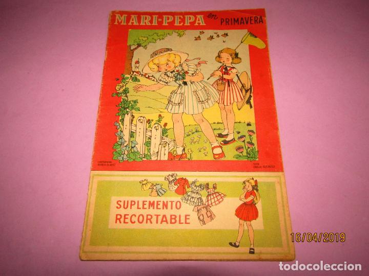 Libros de segunda mano: Antiguo Cuento con MARI-PEPA en Primavera de Emilia Cotarelo con Ilustraciones de Maria Claret - Foto 2 - 160485146
