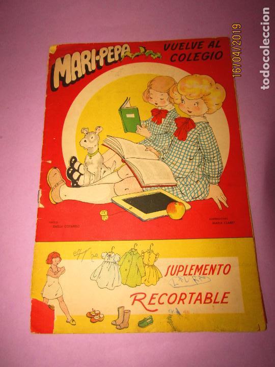 ANTIGUO CUENTO CON MARI-PEPA VUELVE AL COLEGIO DE EMILIA COTARELO CON ILUSTRACIONES DE MARIA CLARET (Libros de Segunda Mano - Literatura Infantil y Juvenil - Otros)