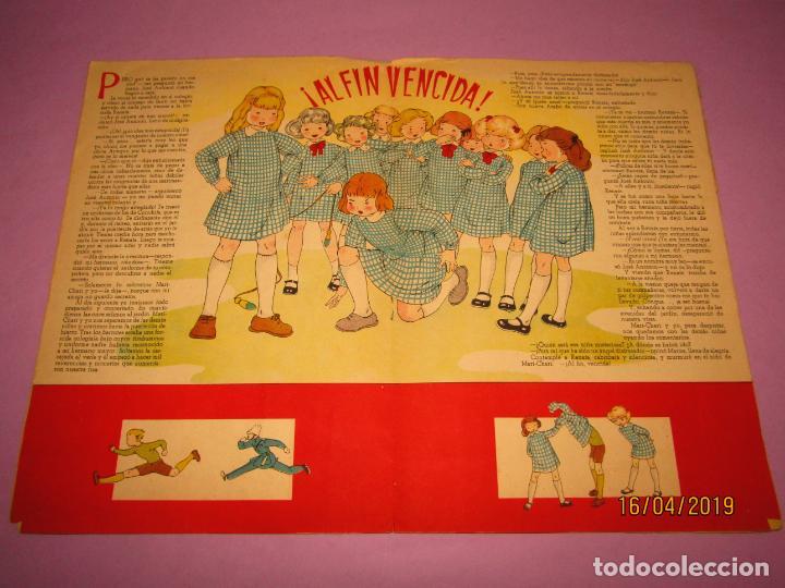 Libros de segunda mano: Antiguo Cuento con MARI-PEPA Vuelve al Colegio de Emilia Cotarelo con Ilustraciones de Maria Claret - Foto 2 - 160485338