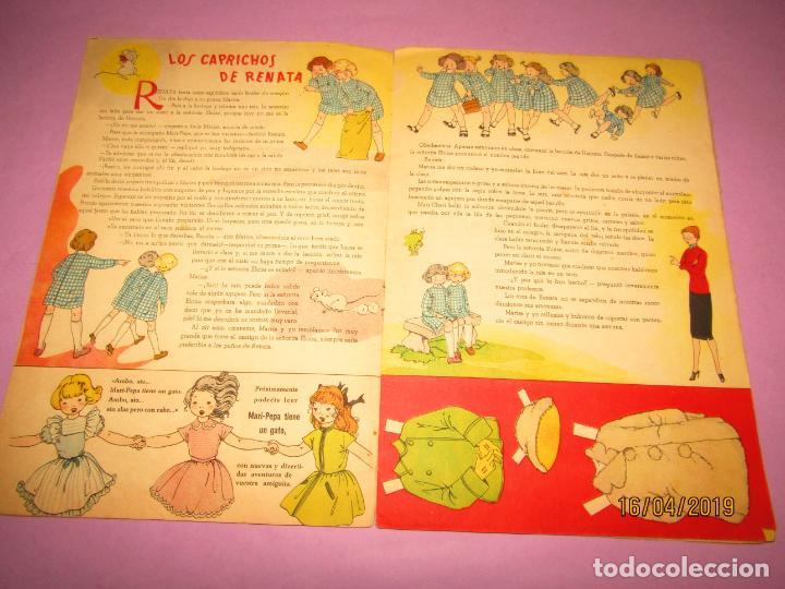 Libros de segunda mano: Antiguo Cuento con MARI-PEPA Vuelve al Colegio de Emilia Cotarelo con Ilustraciones de Maria Claret - Foto 3 - 160485338