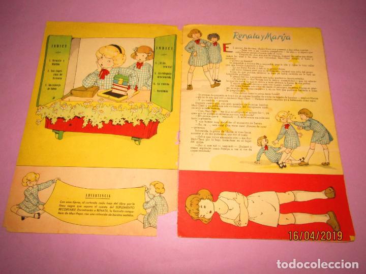 Libros de segunda mano: Antiguo Cuento con MARI-PEPA Vuelve al Colegio de Emilia Cotarelo con Ilustraciones de Maria Claret - Foto 4 - 160485338