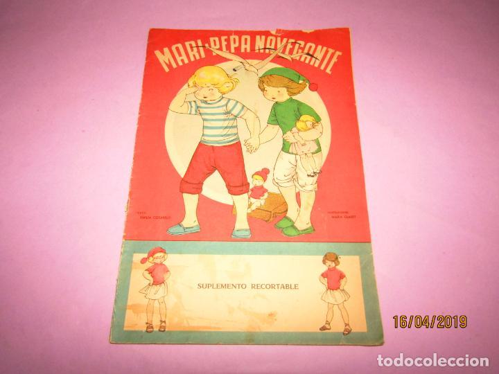 ANTIGUO CUENTO CON MARI-PEPA NAVEGANTE DE EMILIA COTARELO CON ILUSTRACIONES DE MARIA CLARET (Libros de Segunda Mano - Literatura Infantil y Juvenil - Otros)