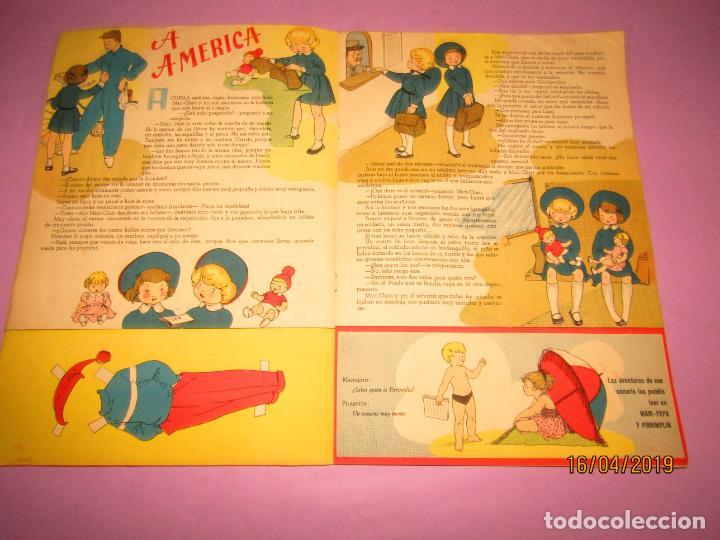 Libros de segunda mano: Antiguo Cuento con MARI-PEPA Navegante de Emilia Cotarelo con Ilustraciones de Maria Claret - Foto 3 - 160485602