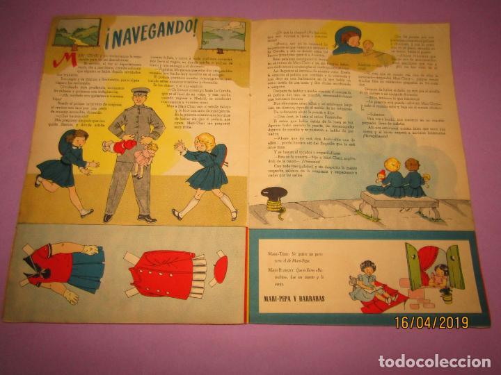 Libros de segunda mano: Antiguo Cuento con MARI-PEPA Navegante de Emilia Cotarelo con Ilustraciones de Maria Claret - Foto 4 - 160485602