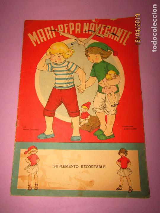 Libros de segunda mano: Antiguo Cuento con MARI-PEPA Navegante de Emilia Cotarelo con Ilustraciones de Maria Claret - Foto 5 - 160485602