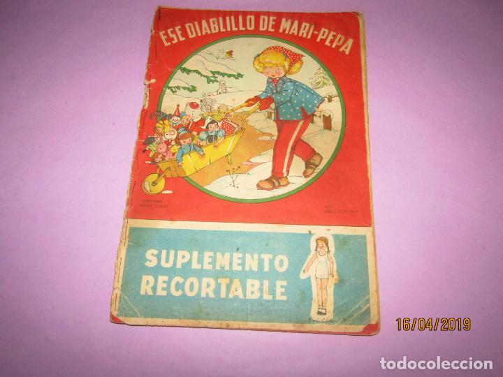 ANTIGUO CUENTO CON ESE DIABLILLO DE MARI-PEPA DE EMILIA COTARELO CON ILUSTRACIONES DE MARIA CLARET (Libros de Segunda Mano - Literatura Infantil y Juvenil - Otros)