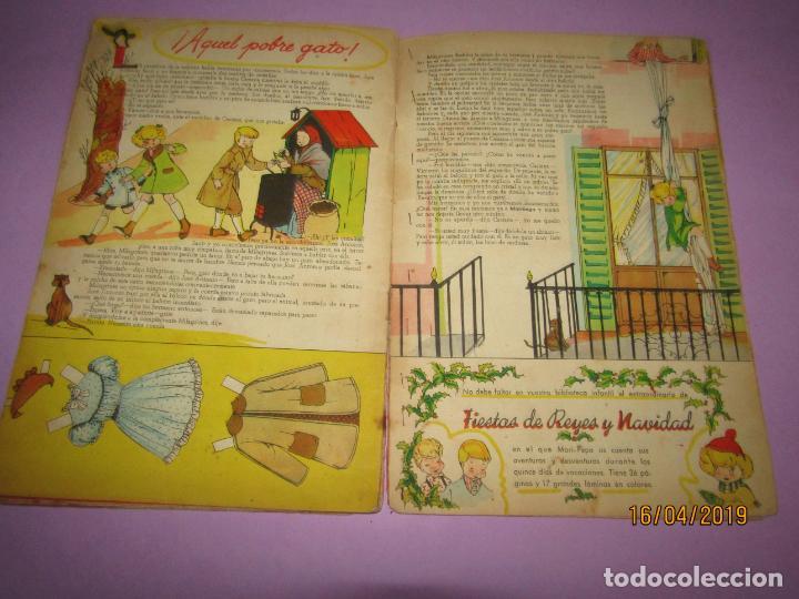 Libros de segunda mano: Antiguo Cuento con ESE DIABLILLO de MARI-PEPA de Emilia Cotarelo con Ilustraciones de Maria Claret - Foto 7 - 160486046