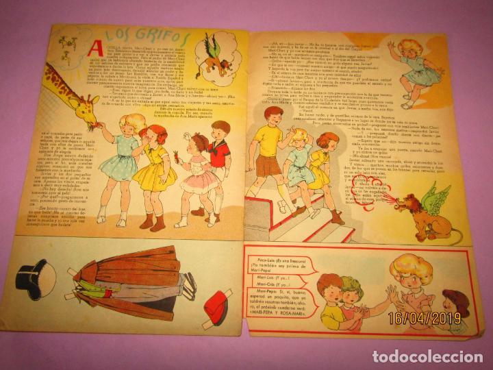 Libros de segunda mano: Antiguo Cuento de MARI-PEPA de Emilia Cotarelo con Ilustraciones de Maria Claret - Foto 3 - 160486402