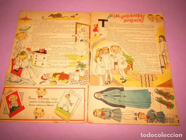 Libros de segunda mano: Antiguo Cuento de MARI-PEPA de Emilia Cotarelo con Ilustraciones de Maria Claret - Foto 6 - 160486690