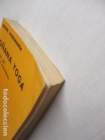Libros de segunda mano: GÑANA YOGA. SENDERO DEL SUPREMO CONCIMIENTO. Swami Vivekananda - Foto 5 - 160486858