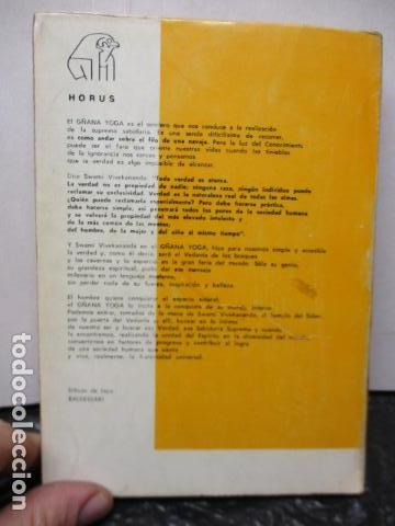 Libros de segunda mano: GÑANA YOGA. SENDERO DEL SUPREMO CONCIMIENTO. Swami Vivekananda - Foto 14 - 160486858